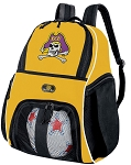 East Carolina Soccer Ball Backpack or ECU Volleyball For Girls or Boys Practice