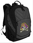ECU Pirates Deluxe Laptop Backpack Black