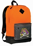 ECU Backpack HI VISIBILITY Orange East Carolina University CLASSIC STYLE