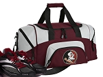 SMALL Florida State Gym Bag FSU Duffle Maroon