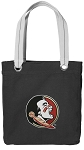 FSU Tote Bag RICH COTTON CANVAS Black