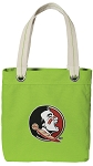 FSU Tote Bag RICH COTTON CANVAS Green