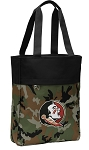 FSU Tote Bag Everyday Carryall Camo