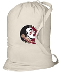 FSU Laundry Bag Natural