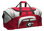 Georgia Bulldogs Duffle Bag or University of Georgia Gym Bags Red