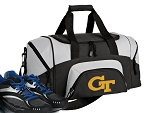 Small Georgia Tech Gym Bag or Small GT Yellow Jackets Duffel