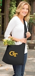 Georgia Tech Tote Bag Sling Style Black
