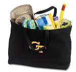 Georgia Tech Jumbo Tote Bag Black