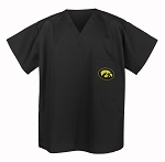 University of Iowa Hawkeyes Scrubs Top Shirt-