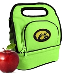 Iowa Hawkeyes Lunch Bag Green