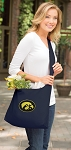 Iowa Hawkeyes Tote Bag Sling Style Navy