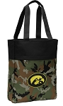 Iowa Hawkeyes Tote Bag Everyday Carryall Camo