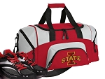 SMALL Iowa State Gym Bag ISU Cyclones Duffle Red