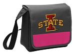 Iowa State Lunch Bag Cooler Pink