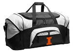 University of Illinois Duffel Bags or Illini Gym Bags For Men or Women