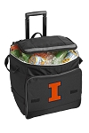 University of Illinois Rolling Cooler Bag