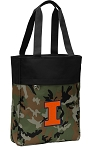 University of Illinois Tote Bag Everyday Carryall Camo