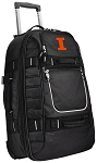 University of Illinois Rolling Carry-On Suitcase