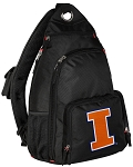 University of Illinois Backpack Cross Body Style