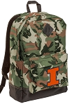 Illinois Illini Camo Backpack