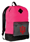 IU Backpack HI VISIBILITY Indiana University CLASSIC STYLE For Her Girls Women