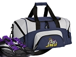 SMALL James Madison University Gym Bag JMU Duffle Navy