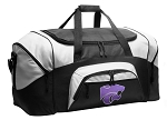Kansas State Duffel Bags or K-State Gym Bags For Men or Women