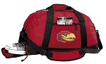 University of Kansas Duffle Bag Red