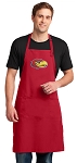 University of Kansas Large Apron Red