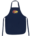 Official University of Kansas Aprons Navy
