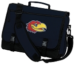University of Kansas Messenger Bag Navy