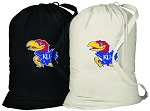 University of Kansas Laundry Bags 2 Pc Set
