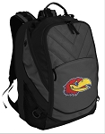 Kansas Jayhawks Deluxe Laptop Backpack Black