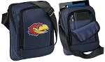 University of Kansas Tablet or Ipad Shoulder Bag Navy