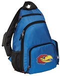 Kansas Backpack Cross Body Style Blue