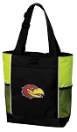 Kansas Jayhawks Tote Bag COOL LIME
