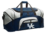 Large University of Kentucky Duffle UK Wildcats Duffel Bags
