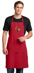 UofL Large Apron Red