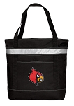 Louisville Cardinals Insulated Tote Bag Black