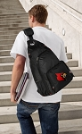Louisville Cardinals Backpack Cross Body Style