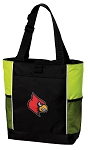 Louisville Cardinals Tote Bag COOL LIME