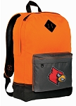 Louisville Cardinals Backpack HI VISIBILITY Orange University of Louisville CLASSIC STYLE