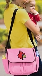 Louisville Cardinals Diaper Bag
