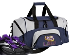 SMALL LSU Tigers Gym Bag LSU Duffle Navy