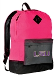 LSU Tigers Backpack HI VISIBILITY LSU CLASSIC STYLE For Her Girls Women