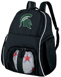 Michigan State University Soccer Backpack or Michigan State Volleyball Bag For Boys or Girls