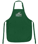 Official Michigan State Peace Frogs Apron Michigan State Logo