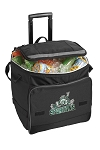 Michigan State Peace Frog Rolling Cooler Bag