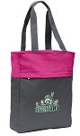 Michigan State Peace Frog Tote Bag Everyday Carryall Pink
