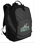 Michigan State Peace Frog Deluxe Laptop Backpack Black